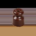 Кабельный изолятор Salvador Ретро коричневая серия