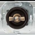 Выключатель для внутреннего монтажа Salvador Ретро коричневая серия