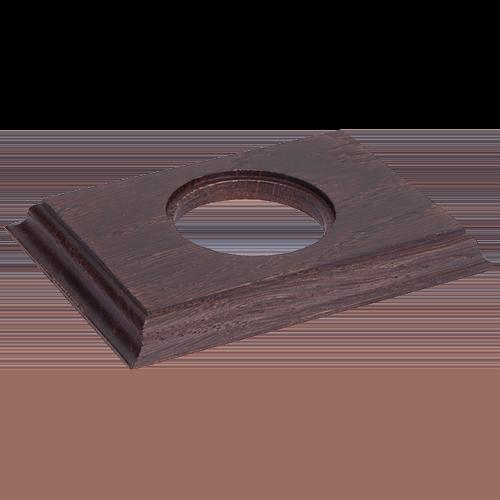 Рамка (прямоугольник) Венге для внутреннего монтажа