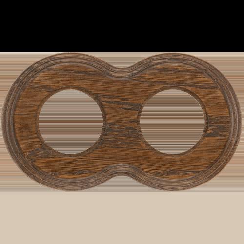 Рамка (восьмерка) Дуб зеленый для внутреннего монтажа