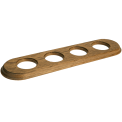Рамка (овал) Дуб зеленый для внутреннего монтажа