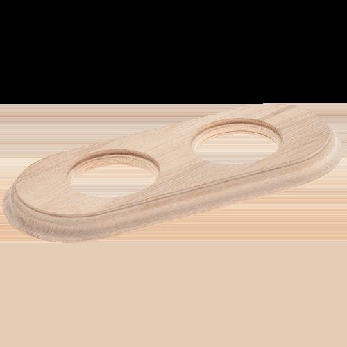 Рамка (овал) Дуб натуральный для внутреннего монтажа