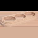 Рамка (овал) Дуб натуральный для наружного монтажа