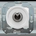 Тумблерный выключатель для внутреннего монтажа Salvador Серебро