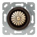 Выключатель (диммер) для внутреннего монтажа Salvador Ретро Венге