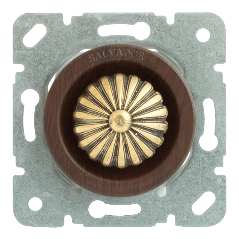 Выключатель (диммер) для внутреннего монтажа Salvador Ретро Вишня