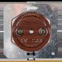 Розетка ТВ для внутреннего монтажа Salvador Ретро Вишня