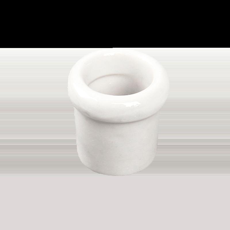 Втулка керамическая Salvador Ретро белая серия