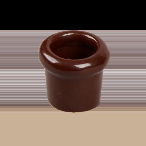 Втулка керамическая Salvador Ретро коричневая серия