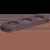 Рамка (овал) Salvador Венге для внутреннего монтажа