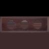 Рамка (прямоугольник) Salvador Венге для внутреннего монтажа