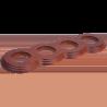 Рамка (восьмерка) Salvador Вишня для внутреннего монтажа