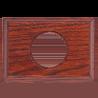 Рамка (прямоугольник) Salvador Вишня для внутреннего монтажа