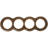 Рамка (восьмерка) Дуб зеленый для наружного монтажа