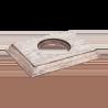 Рамка (прямоугольник) Выбеленный дуб с коричневой патиной для внутреннего монтажа