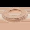 Рамка (восьмерка) Дуб натуральный для внутреннего монтажа