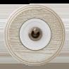 """Тумблерный выключатель для внутреннего монтажа Salvador """"Ретро"""" белая серия"""