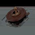 Тумблерный выключатель для внутреннего монтажа Salvador Ретро Венге