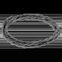 Электрический витой провод, цвет Графит