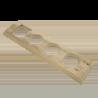 Рамка (прямоугольник) Некрашенная для внутреннего монтажа