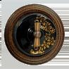 Выключатель Salvador Золотой орнамент