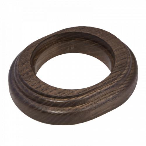 Рамка (овал) Дуб коричневый для наружного монтажа